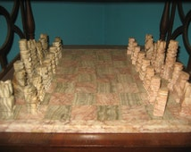 Marble Chess Set/Game