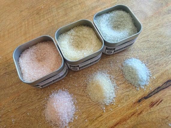 Epsom bath salts trio gift set detox french clays essential for Epsom salt in french