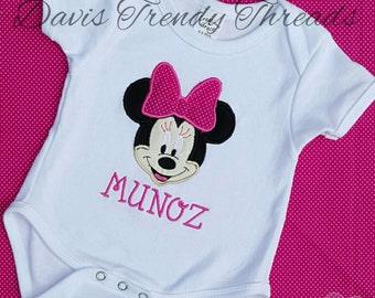 mini mouse shirt or onesie