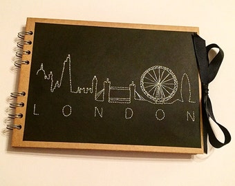 Personalised City Skyline Journals/Photo Albums