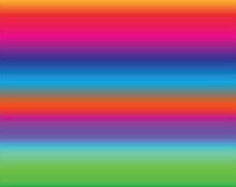 3 Rainbow Patterns, HTV, Permanent, and Glitter