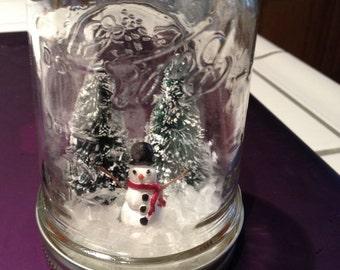 Snowman Snowglobe