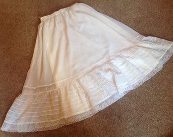 1970s lined Skirt 25w x30l.
