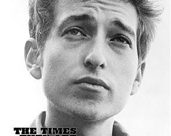 Bob Dylan - The Times That are a Changing Poster - 24x36 in.