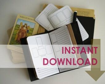 Printable Tarot Spreads: Pocket