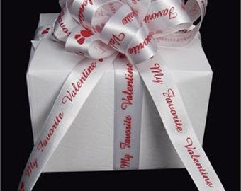 "My Favorite Valentine"" Satin Ribbon"