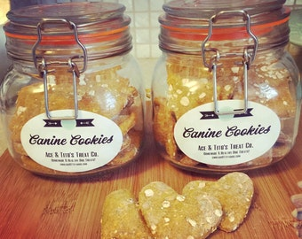 Canine Cookies - Cookie Jar