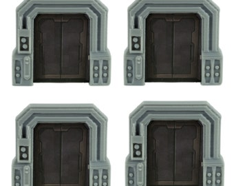 Star Wars Imperial Assault Custom Door Holder Tokens - Set of 4