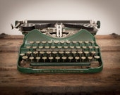 Photo Print - Vintage Manual Typewriter, L.C. Smith & Corona, 8x10 or 16x20