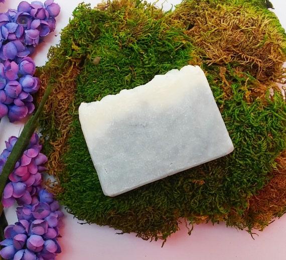 Organic Kukui Oil Soap, Non GMO Cleansing Bar, Hawaiian Ocean Bar, Tropical, Moisturizing, Mild Soap Bar