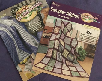 Crochet on the Double 2 Leaflets with patterns
