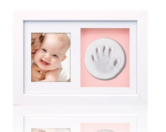 Baby hands and feet Clay Print Frame