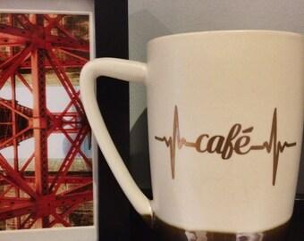"Sticker ""coffee""."