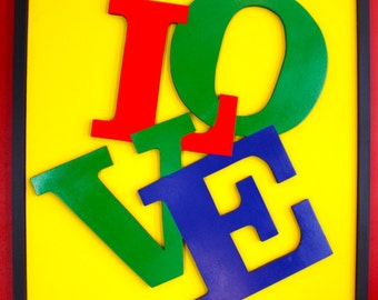 another tangled love affair - happens: original painting - love - typography