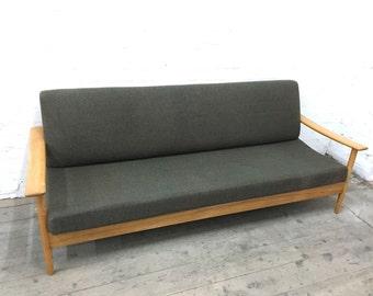 Guy Rogers Vintage Retro Teak Mid Century Sofa Sofabed EAMES ERA 1960s Danish