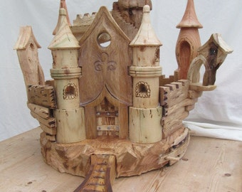 Wooden Castle in Seven Different Woods