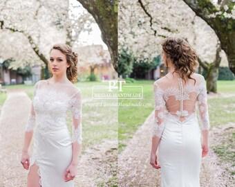 Lace Wedding Bolero, Bolero Top, Custom Wedding Bolero, Bolero Bridal Top, Bridal Shower Gift