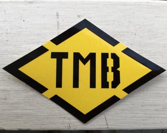 Tour du Mont Blanc [TMB] Trail Marker Sticker