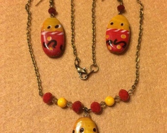 Necklace and Earring Jewelry set
