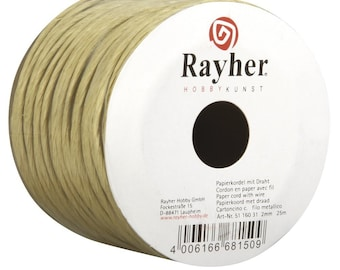 Cord of Paper with Metal Wire-paper Cord with wire-25MT-RAY-335116031