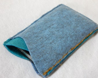 Blue Wave Phone cover - eco filt