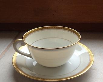 Service tea/coffee porcelain Limoges A Velez