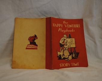The Happy Venture Playbooks Story Time Book One 1959 F J Schonell