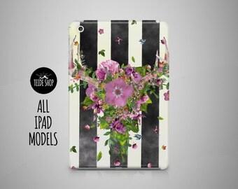 Pattern Horns iPad Case Flowers iPad Mini Case iPad Mini 3 4 Cover iPad Cover iPad Air 2 Case iPad Sleeve Birthday Gift Idea iPad 3 4 Case