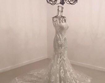 Hacchic Bridal fishtail dress 2017