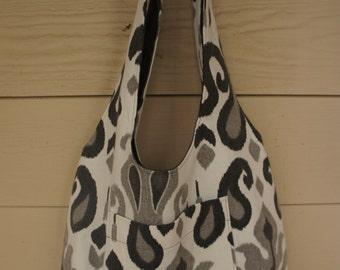 Reversible Shoulder Hobo Bag