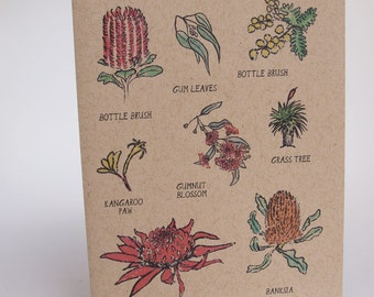 Greeting Card- Flora in Australia