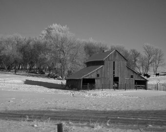 Barns, Black & White Photography, Landscape, Nature, outdoor photography