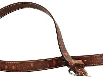 Belts - hand embossed