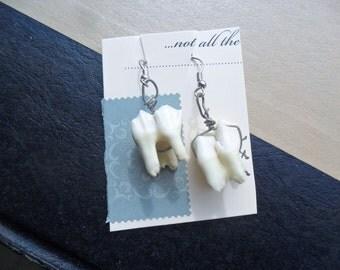 Deer Tooth Earrings