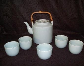 Taylor and NG Teapot & Cups 1971