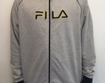 Large Fila Zip-up Jacket