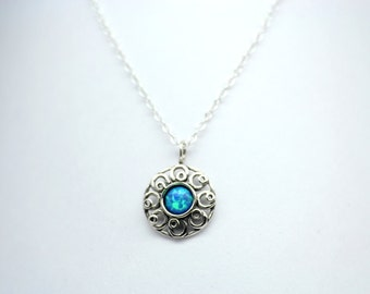 Ocean Blue Mystic Collection Necklace