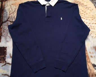 Vintage OG Ralph Lauren Polo Long Sleeve. Size XL