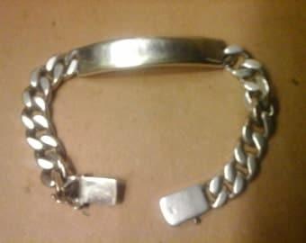 Tiffany Co. ELSA PERETTI Men's ID Bracelet