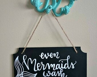 Small Hanging Chalkboard Signs