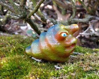 Slim the Slug (#3): Hand painted 3D print