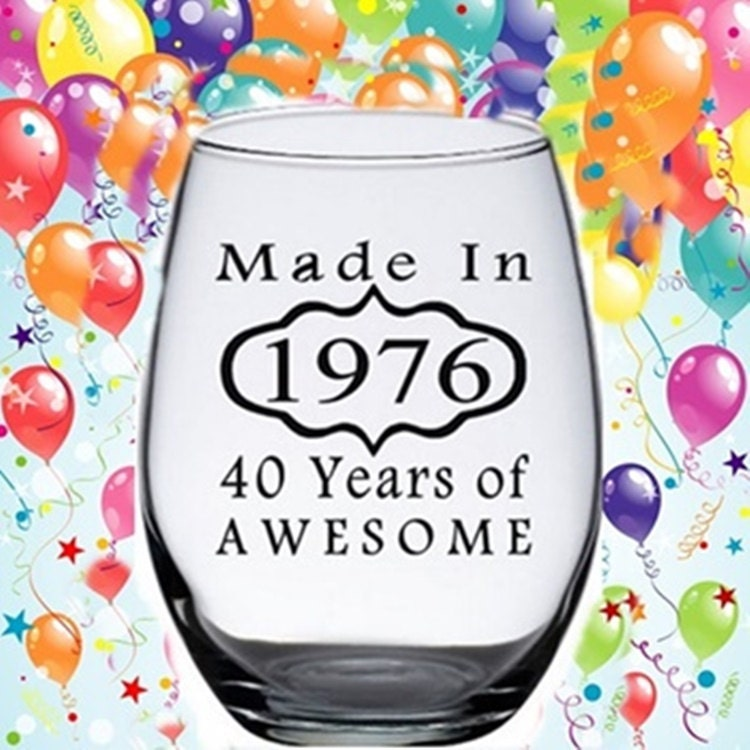 Funny 40th Birthday Gifts Presents For: 40th Birthday Gifts For Women 40th Birthday By