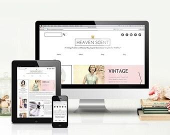 Heaven Scent Website Template for WebPlus X8 (c)