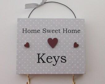 Home Sweet Home Key Rack
