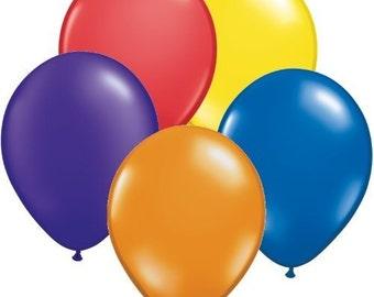 100 LARGE LATEX Party Baloons, Happy Birthday Balloons, Wedding balloons baloons