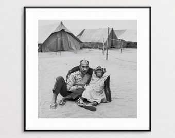 Mary Ellen Mark - Indian Circus - Vintage Book Page - Book Print - Circus Photography - Chimpanzee - Circus Monkey - Animals Wearing Clothes