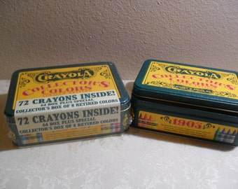 UNOPENED CRAYOLA COLLECTOR's COLORs LIMITeD EDITIoN