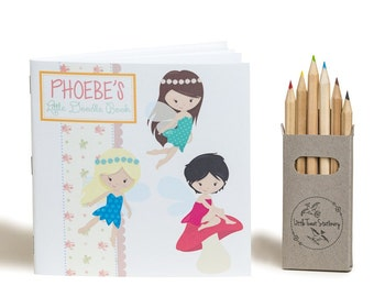 Personalised Fairy Doodle Book