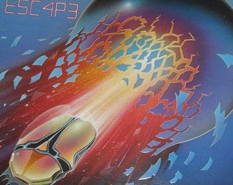 Journey vinyl record album, Journey Escape vintage vinyl record