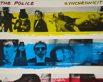 The Police record album Synchronicity vintage vinyl record